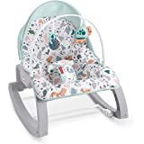 FISHER PRICE Deluxe Infant-to-Toddler Rocker, Multi 24x5.5x17 Inch (Pack of 1)