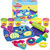 Play-Doh Kitchen Creations Cookie Creations Toy Set, Brown