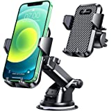 VANMASS Car Phone Mount, Dashboard & Windshield Cell Phone Holder Stand Car, Strong Stick Suck, One-Touch Design, Car GPS Cra