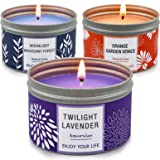 Candles for Home Scented, 100 Hour Burn Long Lasting Aromatherapy Candle, Highly Scented & Soy Jar Candle Gift Set - 3 Pack 4