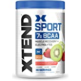 XTEND Sport BCAA Powder Strawberry Kiwi Splash - Electrolyte Powder for Recovery & Hydration with Amino Acids - 30 Servings