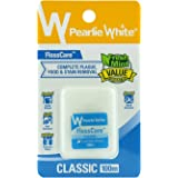 Pearlie White FlossCare Classic Waxed Mint Floss, 100 m