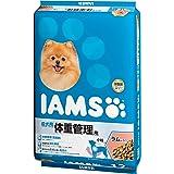 アイムス (IAMS) ドッグフード 体重管理用 小粒 ラム&ライス 成犬用 12kg