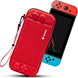 tomtoc Switch Case for Nintendo Switch, Slim Switch Sleeve with 10 Game Cartridges, Protective Switch Carry Case for Travel,