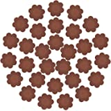 30 Pieces Nipple Cover Plum Shaped Disposable Breast Covers Self-adhesive Petal Bra Pasties