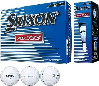 ダンロップ SRIXON ボール スリクソン AD333-7 ボール 1ダース(12個入り)