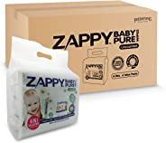 Zappy Baby Pure 80s Wipes Value Pack, 80 ct (Pack of 24)