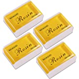 Rosin Violin Rosin Natural Rosin 4 Pack Low Dust Universal Rosin for Violin Viola and Cello (4 Pack Rosin)