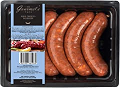 The Gourmet's Pack Pork Chorizo Sausages Thick, 500g - Chilled