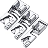 3 Pieces Presser Foot Set Suitable for Household Multi-Function Sewing Machines Set A