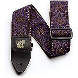 Ernie Ball P04164 Ernie Ball Purple Paisley Jacquard Strap, 170 cm