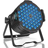 BETOPPER ステージライト 舞台照明 ディスコライト 54x3W LED RGB DMX512 カラフル Par Light スポットライト パーライト 演出/舞台照明用ライト ホームパーティー/ディスコ/パーティー/KTV/結婚式/クラブ/バ