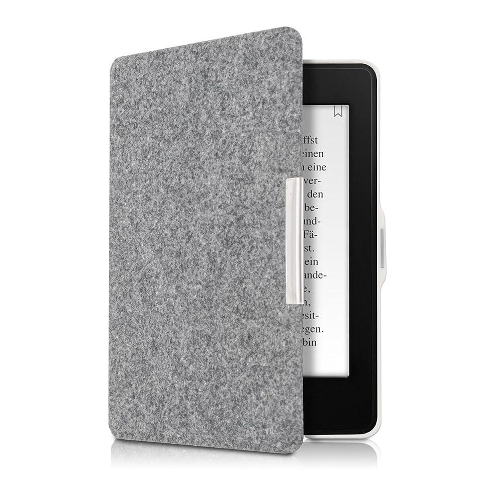 崇拝します倒産ちょうつがいkwmobile 対応: Amazon Kindle Paperwhite ケース - 電子書籍カバー フェルト製 オートスリープ マグネット付き reader 保護ケース