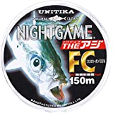ユニチカ(UNITIKA) フロロカーボンライン ナイトゲーム ザ・アジFC 150m ナチュラルクリアー