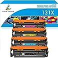 True Image Compatible Toner Cartridge Replacement for HP 131X CF210X 131A Laserjet Pro 200 Color M251nw M251n M251 M276n M276