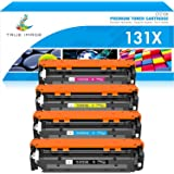 True Image Compatible Toner Cartridge Replacement for HP 131X CF210X 131A Laserjet Pro 200 Color M251nw M251n M251 M276n M276