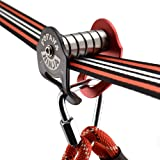 Fofana Ninja Slider Slackline Pulley - Zip Along Your Ninja Line with The Most Fun New Accessory for Your Ninja Warrior Obsta