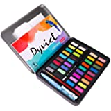 Dyvicl Professional Watercolor Paint Set - 36 Assorted Watercolors, Paint Tin, Watercolor Painting Kit for Artists, Students,