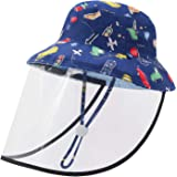 Duoyeree Baby Sun Protection Reversible Fisherman Hat Toddler Kids Adjustable UPF50+ Beach Cap for Girls Boys