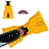 Chainsaw Sharpener,SDMS Portable Chain Saw Blade Teeth Sharpener Fast-Sharpening Stone Grinder Tools Suitable for 14/16/18/20