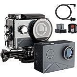 【進化版】MUSON(ムソン) MAX1 アクションカメラ 4K高画質 40M防水 EIS手ぶれ補正 WiFi搭載 SO…