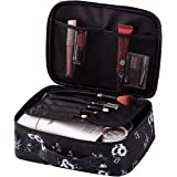 Travel Makeup Cosmetic Case,Portable Brushes Case Toiletry Bag Travel Kit Organizer Cosmetic Bag