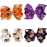 Love Sweety Baby Rose Halloween Headband Infant Pumpkin Hairband Bow Hair Clips
