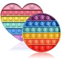 SVNVIOZ スクイーズ玩具 プッシュポップ 2個セット バブル感覚 フィジェットおもちゃ 人気 ボードゲーム 減圧グ…