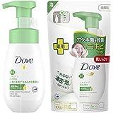 【Amazon.co.jp限定】 Dove(ダヴ) ニキビケア クリーミー泡洗顔料+ニキビケア クリーミー泡洗顔料 詰替え用 160mL+140m おまけ付き