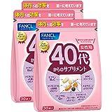 新 ファンケル (FANCL) 40代からのサプリメント女性用 45~90日分