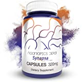Synapsa Bacopa Monnieri Capsules | 320mg | 60 Count | Whole Plant Extract | Ayurveda Supplement | Adaptogen Herb | Clinically