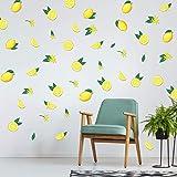 Lemon Wall Decal Lemonade Wall Sticker Wall Decor for Living Room Bedroom Fruit Print Wall Art for Kitchen Office