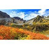 絵画風 壁紙ポスター (はがせるシール式) -地球の撮り方- 日本一の紅葉、涸沢カールの絶景と奥穂高岳登山 日本の絶景…