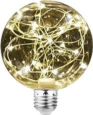 LED電球 星空 装飾電球 カラフル E26 ストリングライト クリスマス 結婚式 パーティー 誕生日 ハロウィン デート レストラン 飾りライト イルミネーションライト エジソン装飾電球