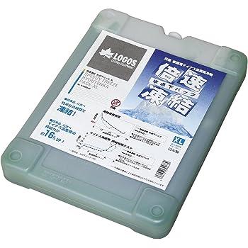 ロゴス 保冷剤 倍速凍結 長時間保冷 氷点下パックXL 奥行25.5cm 幅19.5cm 高さ3.5 cm
