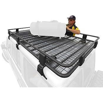 Amazon Arb 3800120 Mスチール屋根ラックバスケット ルーフbox・ラック 車&バイク