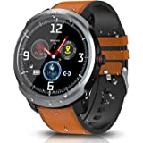 BYTTRON Smart Watch, Bluetooth Smartwatch Fitness Tracker IP68 Waterproof Activity Trackers with GPS Sports Record Pedometer