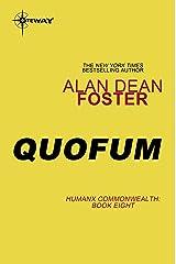 Quofum (Humanx Commonwealth Book 8) Kindle Edition