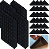 48 Pieces Rug Grippers Reusable Carpet Gripper No Curling Rug Tape Strong Sticky Rug Pad Non Slip Straight Carpet Tape Area R