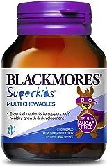Blackmores Super Kids Multi Chewables Tab, 60ct