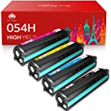 Toner Kingdom Compatible Toner-Cartridge Replacement for Canon 054H 054 High Yield CRG-054 for Canon Color ImageClass LBP622C