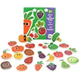 Little Bado Vegetables Floor Puzzles for Kids Puzzles Age 2 3 5 1 4 6 Years Olds Boys and Girls Animals Jigsaw Puzzles Childr