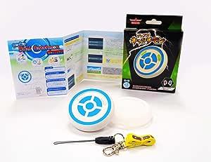 Megacom ポケモンGO オートキャッチ 自動捕獲 【2020年】バージョン デュアルキャッチモン 二つのID使用可能 遅延なし 電源スイッチ付き 台湾製メーカ正規品 日本語説明書付 Dual Catchmon Pokemon GO (青)