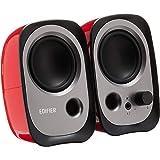 Edifier R12U Active USB Powered Multimedia Speaker System – Bass Reflex, 3.5mm AUX Port, Headphone Jack, Master Volume with B