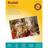 Kodak 50 Sheets Matte Finish 180gsm A4 Photo Paper, (5740-130)