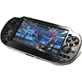 COSMOS Black Aluminum Metallic Protection Hard Case Cover for Playstation PS VITA 1000 Series, Fits for Oval Start & Select B