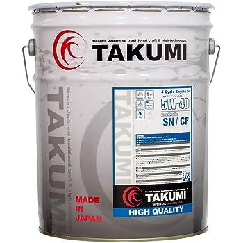 エンジンオイル 20L 5W-40  化学合成油HIVI TAKUMIモーターオイル