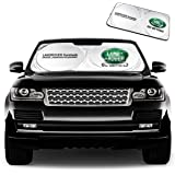 Car Sunshade Windshield Visor Cover Car Window Sun Shade Film UV Protect for Land Rover Compatible Accessories with Discovery