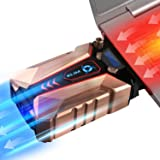 KLIM Technologies Cool + Metal Laptop Cooler Fan - The Most Powerful Gaming External Air Vacuum - Computer USB For Immediate