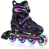 2pm Sports ジュニア インラインスケート 子供用 Inline skate 初心者向け 本格的な仕様 サイズ調…